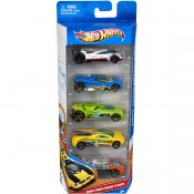Hot Wheels, bilar, 5-pack