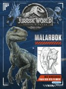Jurassic World Målarbok