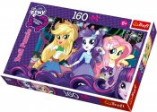 My Little pony, Equstria girls, pussel, 160 bitar