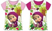 Masha and the bear kortärmad T-shirt