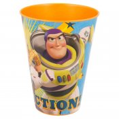 Toy Story Buzz Lightning plastglas, 430 ml