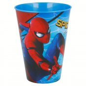 Spiderman plastglas, 430 ml