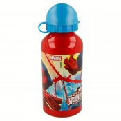 Spiderman vattenflaska i aluminium, 400 ml