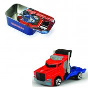 Transformers Optimus Prime, bil med box