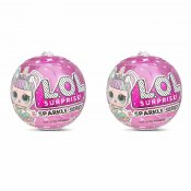 2-pack L.O.L. Surprise Dolls Sparkle Series Docka