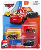 Disney Cars, Mini Racers Metal 3-pack