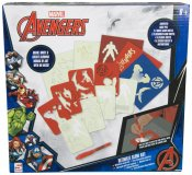 Avengers, pysselset, glow in the dark