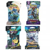 Pokemon 4-pack Sun & Moon Booster Blister Samlarkort