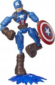 Captain America, Avengers, Bend and Flex figur