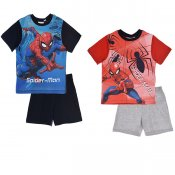 Spiderman Set Shorts och T-shirt