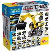 Science Hi Tech robot och bulldozer