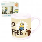 Minions mugg i porslin Need Coffee