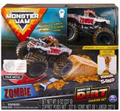 Monster Jam Monster Dirt lekset - Kinetic Sand och Zombie Truck