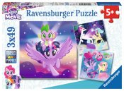 My little pony Ravensburger pussel 3x49