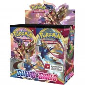 36-pack Pokémon Sword & Shield Booster samlarkort