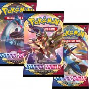 3-pack Pokémon Sword & Shield Booster samlarkort
