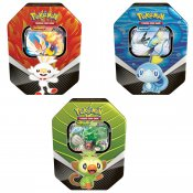 Pokemon 3-PACK Sword & Shield Galar Partners Tin