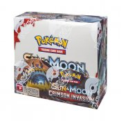 36-pack Pokémon Sun & Moon Crimson Invasion Booster Display samlarkort