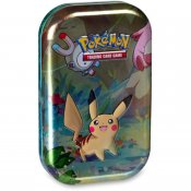 Pokémon Kanto Friends Mini tin samlarkort