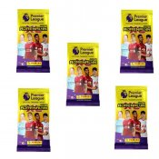 5-Pack Premier League 2020/21 fotbollskort Samlarkort Booster