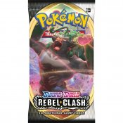 Pokémon Sword & Shield Rebel Clash Booster samlarkort