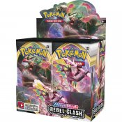 36-pack Pokémon Sword & Shield 2: Rebel Clash Display Booster Box samlarkort