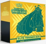Pokémon Sword & Shield Rebel Clash Elite Trainer Box samlarkort
