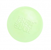 Mjuk stressboll med slime i, glow in the dark