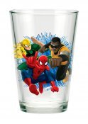 Spiderman, Iron Fist, Power Man, porslinglas i 3-pack
