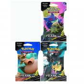 Pokemon 3-pack Sun & Moon Team Up Booster Blister Samlarkort
