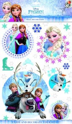 Disney Frost väggdekor i 3D