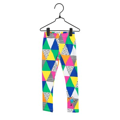 Pippi Långstrump Trianglar Leggings