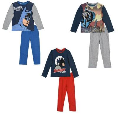 Barman Batman Pyjamas barn (Blå, 4A - 104 cm)