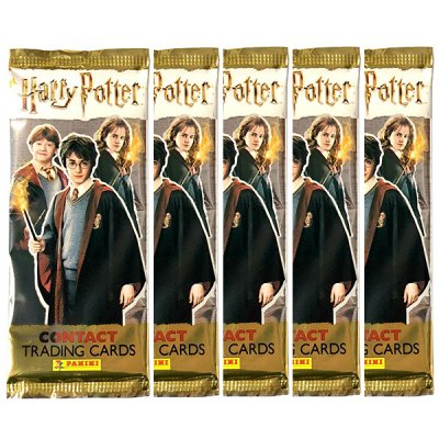 5-pack Harry Potter Contact Trading Cards Booster samlarkort