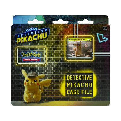 Pokémon Detective Pikachu Case file 3-pack Booster