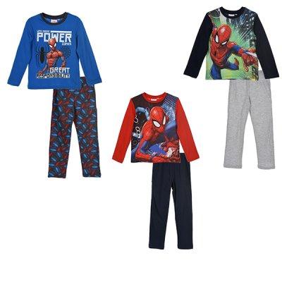 Spider-Man Spiderman pyjamas (Blå, 6 ÅR - 116 CM)