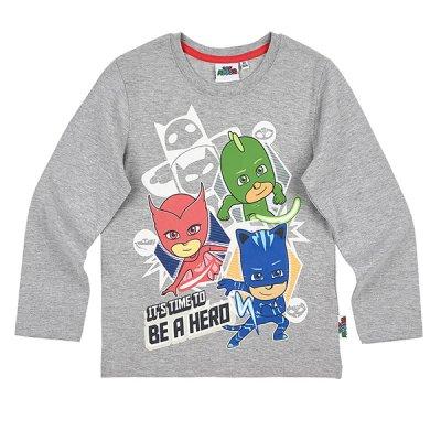 86010aadda79 Pyjamashjältarna, Långärmad T-Shirt, barn - Långärmad T-shirts - T ...