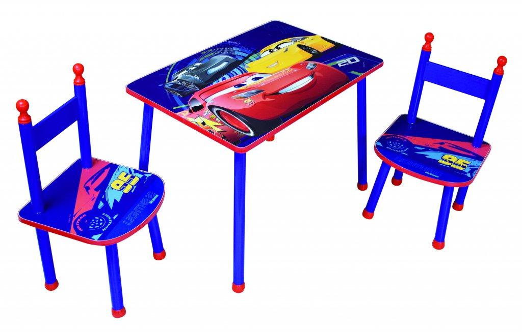 Köp Disney Pixar Cars Disney Cars Bord och 2 Stolar Set