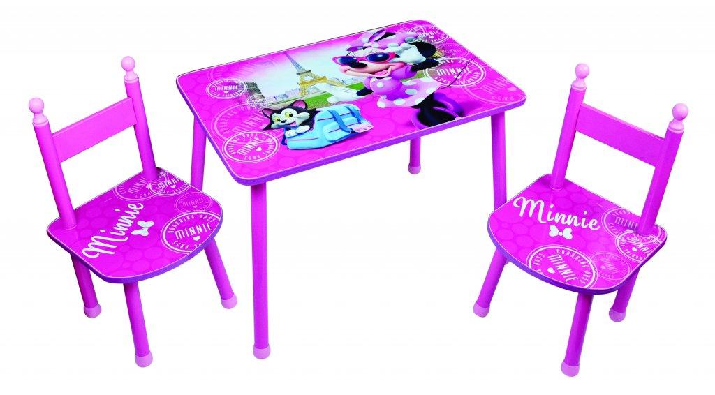 Mimmi Pigg bord med 2 stolar