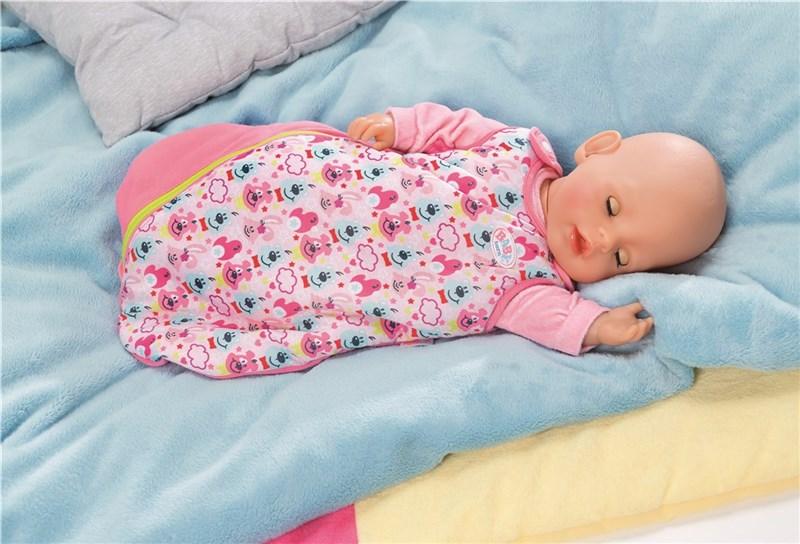2 i 1 sovsäck och hi Baby Born Baby Born Doll och